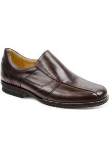 Sapato Social Masculino Side Gore Sandro Moscoloni