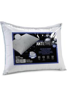Travesseiro Antistress- Branco- 70X50Cm- Altenbualtenburg