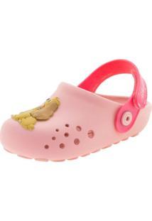 Clog Infantil Baby Disney Mix Rosa Grendene Kids - 21793