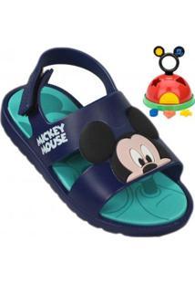 Sandália Infantil Grendene Mickey E Minnie Baby