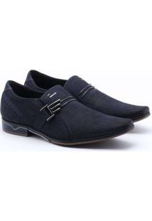 Sapato Social Pegada Elegant Azul