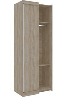 Guarda-Roupa Closet Modulado Virtual Ii 2 Pt Cedro Amadeirado