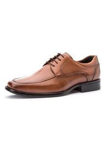 Sapato Social Masculino Premium Kire Gel Lavenko - 3902 Marrom Claro