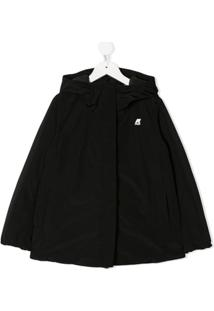 K Way Kids Marguerite Thermo Coat - Preto