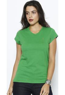 Camiseta Lisa- Verde- Club Polo Collectionclub Polo Collection