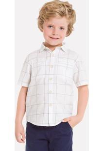 Camisa Infantil Masculina Milon Tricoline 11823.6824.12