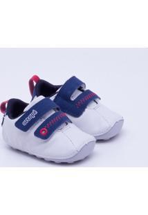 Sapato Ortopé Baby Infantil - Masculino-Branco