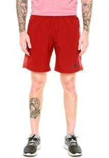 Short Adidas Speed Wv Vermelho