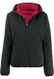 Save The Duck Reversible Padded Jacket - Preto