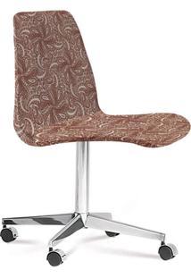 Cadeira Eames Loft Bege E Marsala