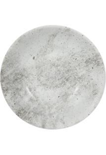 Prato Sobremesa Porcelana Schmidt - Dec. Concreto