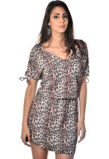 Vestido Curto Banca Fashion Casual Chique Preto