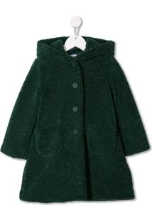 Il Gufo Casaco Com Abotoamento Simples - Verde
