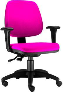 Cadeira Giratória Lyam Decor Job Rosa