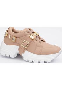 Tênis Feminino Chunky Sneaker Pedraria Marisa