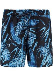 Bermuda Vr Masculina - Masculino-Azul
