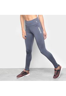 Calça Legging Gonew Keep Running Feminina - Feminino-Cinza 52a4d001e0103