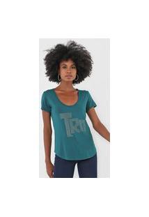 Camiseta Triton Aplicações Verde