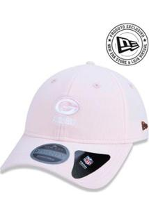 810367443 Boné 920 Green Bay Packers Nfl Aba Curva New Era - Masculino-Pink