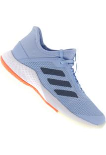 Tênis Adidas Adizero Club - Feminino - Azul Cla/Azul Esc