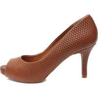 442777672 Peep Toe Luz Da Lua feminino   Shoes4you