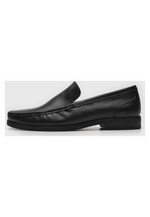 Sapato Social Ferracini Liso Preto