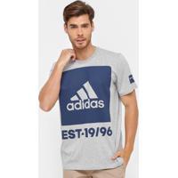 Camiseta Adidas Mc 360 Graus Masculina - Masculino-Cinza 32986eaf7a5b8
