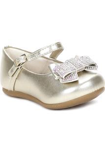 Sapato Pampili Dourado
