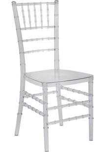 Cadeira De Jantar Tiffany Cristal