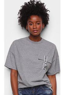 Camiseta Colcci Com Bolso Feminina - Feminino