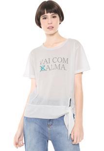 Camiseta Coca-Cola Jeans Alma Off-White
