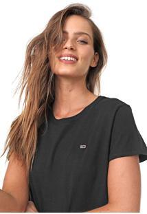 Camiseta Tommy Jeans Lisa Preta
