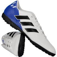 a9d84f192b Chuteira Adidas Nemeziz Messi Tango 18.4 Tf Society Branca