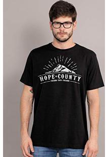 Camiseta Masculina Far Cry 5 Hope County Logo 853ce746b6cee