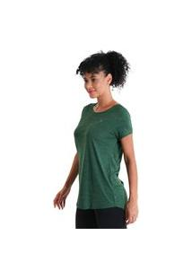 Camiseta Feminina Levíssima Energy - Verde - Líquido