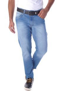 Calça 2211 Jeans Slim Traymon Azul Claro