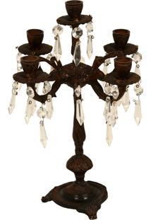 Castiçal De Metal Decorativo Hang