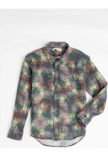 Camisa Mini Pf Liberty Estrelar Infantil Reserva Mini Masculina - Masculino-Preto