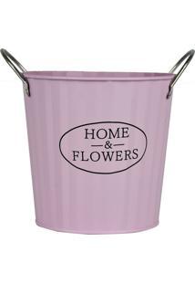 Vaso Rosa Home & Flowers Kasa Ideia