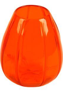 Vaso Vidro Decorativo Orange