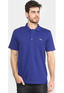 4484dc8e3e Camisa Polo Lacoste Super Light Masculina - Masculino-Branco+Azul