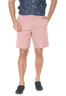 Bermuda Banana Republic Chino Slim Stretch-Cotton Rosa