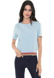 Camiseta My Favorite Thing(S) Estampada Azul