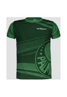 Camisa Palmeiras Waves Infantil Verde