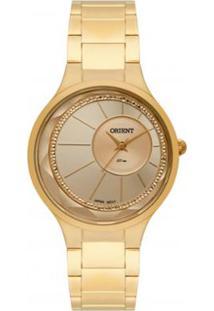 Relógio Feminino Orient Analógico Fgss0116C1Kx - Unissex-Dourado