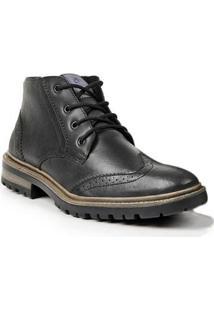 Bota Dress Boot Sandro & Co. Masculina - Masculino-Preto