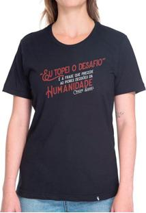 Eu Topei O Desafio - Camiseta Basicona Unissex