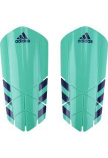 fde776b2af Caneleira De Futebol Adidas Ghost Lesto Ss18 - Adulto - Verde Azul Esc