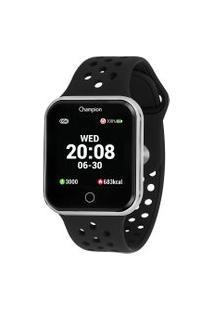 Relógio Digital Champion Smart Feminino - Ch50006T Prateado