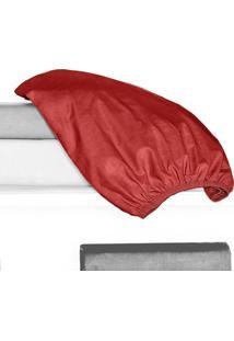 Porta Travesseiro 150 Fios Juma 01 Peça - Vermelho